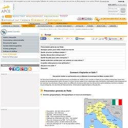 Comment s'implanter en Italie ? - APCE, agence pour la création d'entreprises, création d'entreprise, créer sa société,l'auto-entrepreneur, autoentrepreneur, auto-entrepreneur, auto entrepreneur, lautoentrepreneur, reprendre une entreprise, aides à la cré