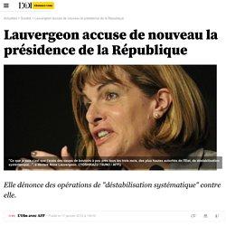 Lauvergeon accuse de nouveau la présidence de la République - Société