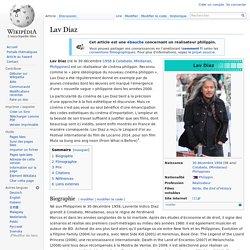 Lav Diaz