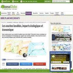 Les couches lavables, impacts écologique et économique