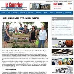 Laval : un nouveau petit coin de paradis