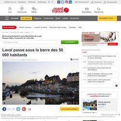 Laval passe sous la barre des 50000habitants