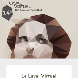 Le Laval Virtual - design by Geoffrey Dorne