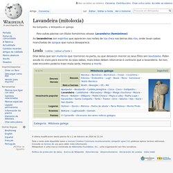 Lavandeira (mitoloxía) - Wikipedia, a enciclopedia libre