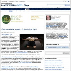Enlaces del día - Blogs de Opinión de LaVanguardia.comEnlaces del día | Blogs de Opinión de LaVanguardia.com
