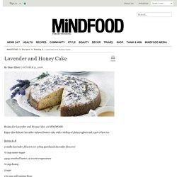 Lavender and Honey Cake