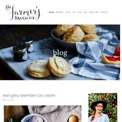 earl grey lavender ice cream — the farmer's daughter