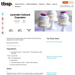 Lavender Party Treats