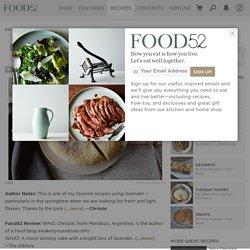 Lemon Lavender Polenta Cake Recipe on Food52