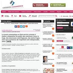 Laverie libre-service - Fiches conseils - cession-commerce.com