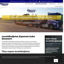 Lavettikuljetus Espoo