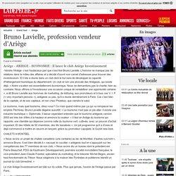 Bruno Lavielle, profession vendeur d'Ariège - 27/02/2003