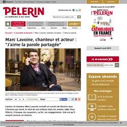 """Marc Lavoine, chanteur et acteur : """"J'aime la parole partagée"""""""