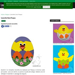 Lavoretto Uovo Pasqua