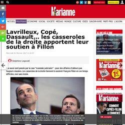 Lavrilleux, Copé, Dassault... les casseroles de la droite apportent leur soutien à Fillon