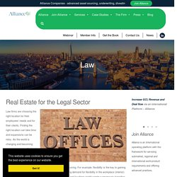 Alliance Commercial Real Estate for the Legal Sector