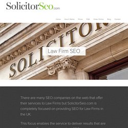 Law Firm SEO (UK)