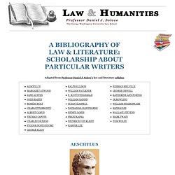 LAW & HUMANITIES