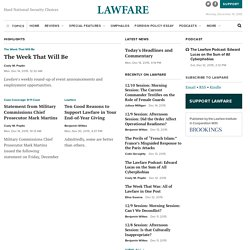Lawfare › Hard National Security Choices