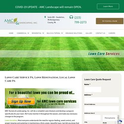 Lawn Care and Renovation Service PA