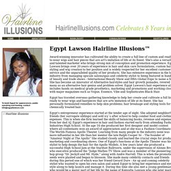 Egypt Lawson Hairline Illusions - About us