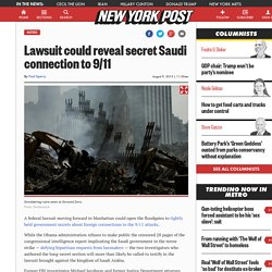Lawsuit could reveal secret Saudi connection to 9/11
