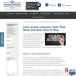 Class Action Lawsuits: How They Work and How They're Won