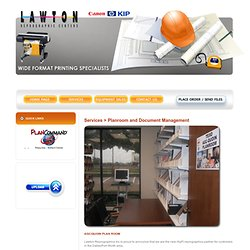 Reprographic Centers