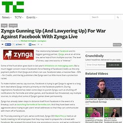 Zynga Gunning Up (And Lawyering Up) For War Against Facebook With Zynga Live