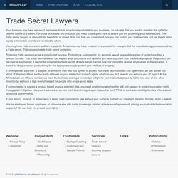 Trade Secret Lawyers & Attorneys, Trade Secret Protection US