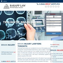 Brain Injury Lawyers Toronto - Barapp Law