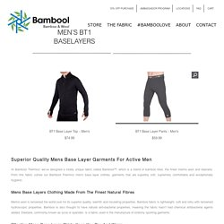 Mens Base Layer Bottoms
