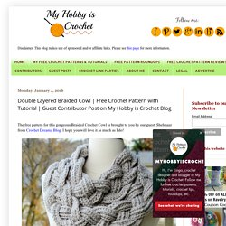 Guest Contributor Post on My Hobby is Crochet Blog