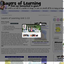 Layers of Learning Unit 1-13