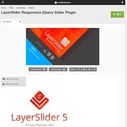 JavaScript - LayerSlider Responsive jQuery Slider Plugin