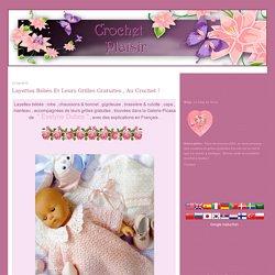 Layettes bébés et leurs grilles gratuites
