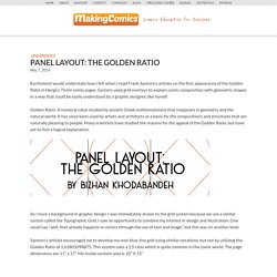 Panel Layout: The Golden Ratio
