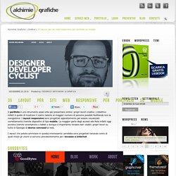 35 layout per siti web responsive per portfolio su mobile