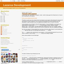 Lazarus Development