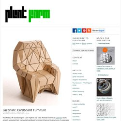 Lazerian: Cardboard Furniture