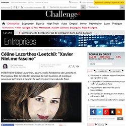 """Céline Lazorthes (Leetchi): """"Xavier Niel me fascine"""""""