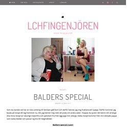 LCHFingenjören - Balders Special