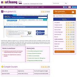 LCL - Avis sur la banque en ligne du LCL