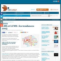 LMS et LCMS : les tendances 2015