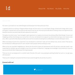 lddesigns - The Creative Portfolio of Liam Dutton, Web Designer & Developer