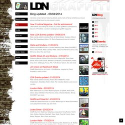 LDN Blog - London Graffiti and Street Art, documented - Updated 05/03/2011