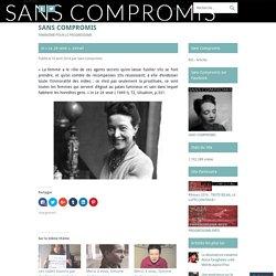 """extrait """"Le 2è sexe"""" Simone de Beauvoir"""