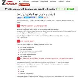 Le b.a-ba de l'assurance crédit