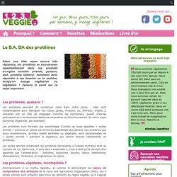 Le B A BA des protéines1.2.3. Veggie