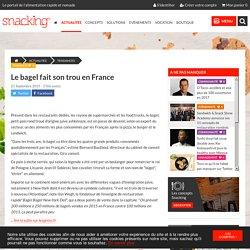 Le bagel fait son trou en France